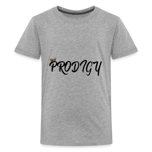 Prodigy Black w/Gold Crown - Kids' Premium T-Shirt