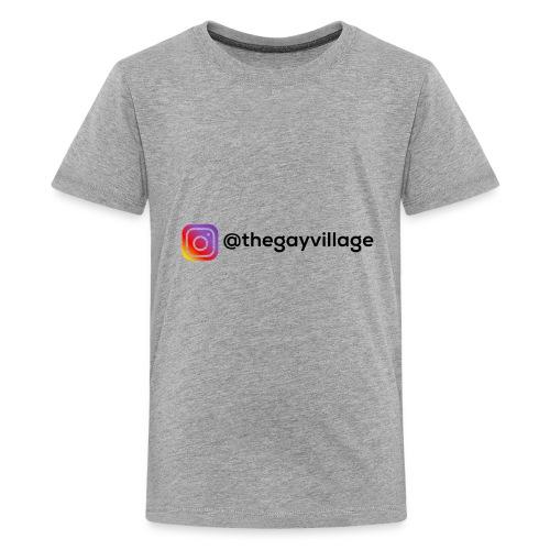 TGV Back Logo - Kids' Premium T-Shirt