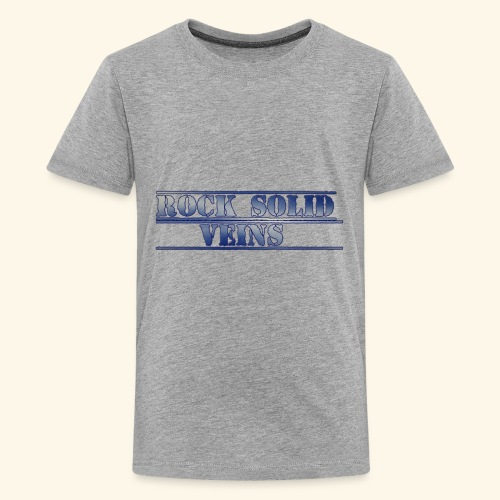 rock solid veins - Kids' Premium T-Shirt