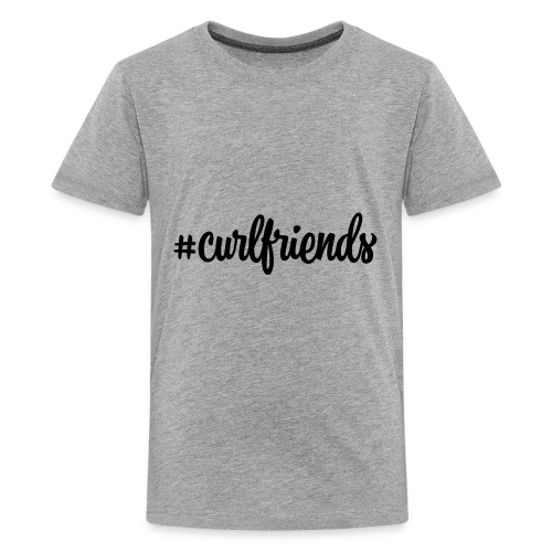 #curlfriends - Kids' Premium T-Shirt