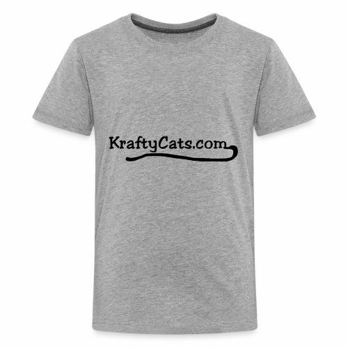 KraftyCats.com - Kids' Premium T-Shirt