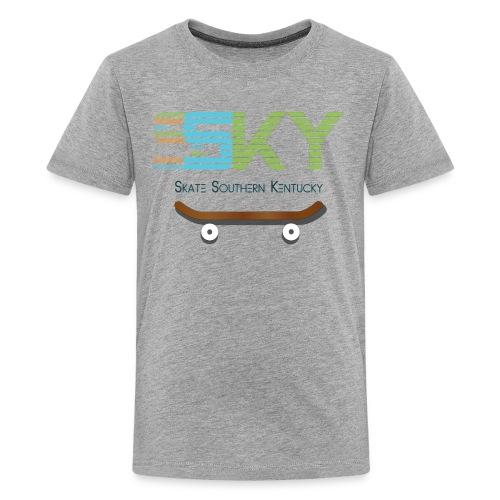 SSKY board logo - Kids' Premium T-Shirt
