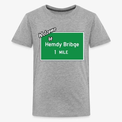 HEMDY BRIBGE Indian Trail Shirt - Kids' Premium T-Shirt