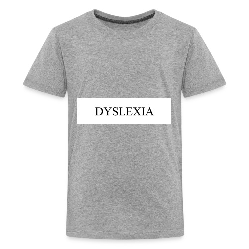 DYSLEXIA - Kids' Premium T-Shirt