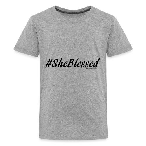 #SheBLESSED - Kids' Premium T-Shirt