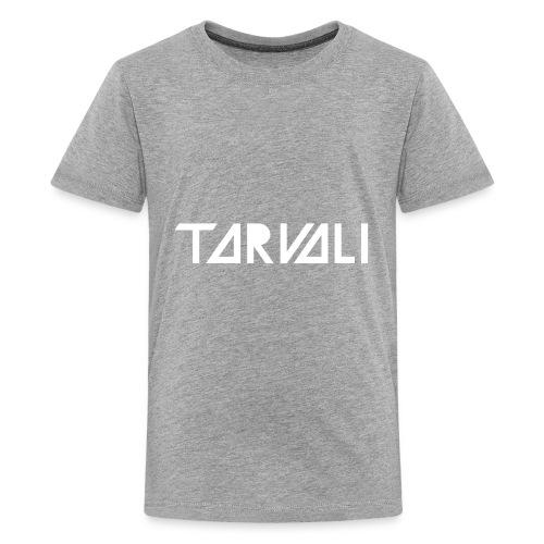 Tarvali White Logo - Kids' Premium T-Shirt