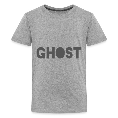 Ghost Clothing - Ghost Text Logo Merch - Kids' Premium T-Shirt