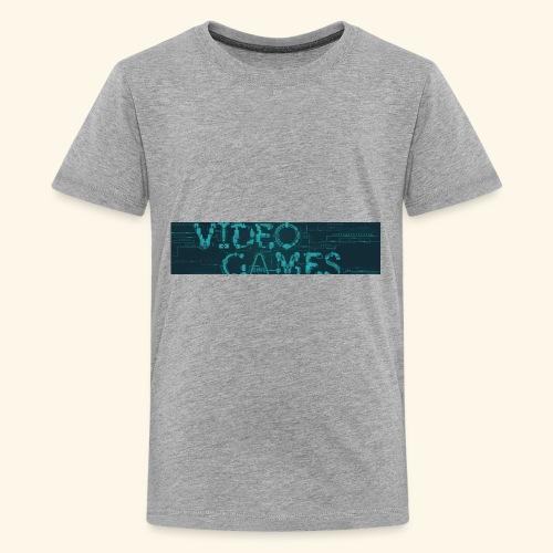 Video Games. - Kids' Premium T-Shirt