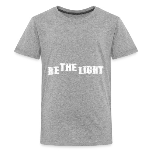 Be The Light christian shirt - Kids' Premium T-Shirt