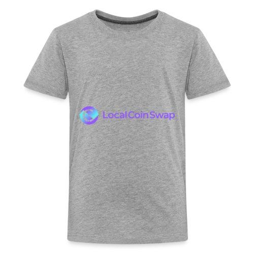 Logo white bg - Kids' Premium T-Shirt