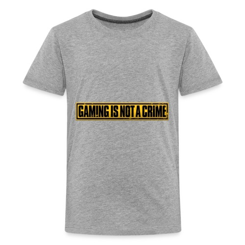 Gaming is not a Crime - Kids' Premium T-Shirt
