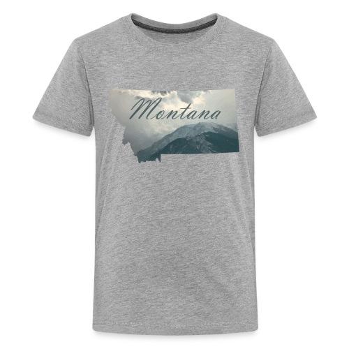 Redlodge, Montana - Kids' Premium T-Shirt