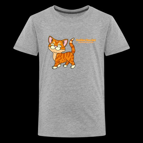 Smiling Tom, The Positive Tom Cat - Kids' Premium T-Shirt