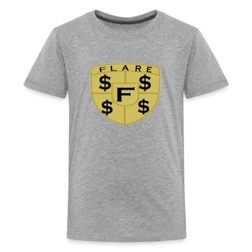 FLARE Shield Logo - Kids' Premium T-Shirt