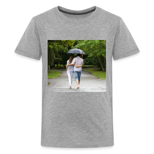 love couple 746 - Kids' Premium T-Shirt