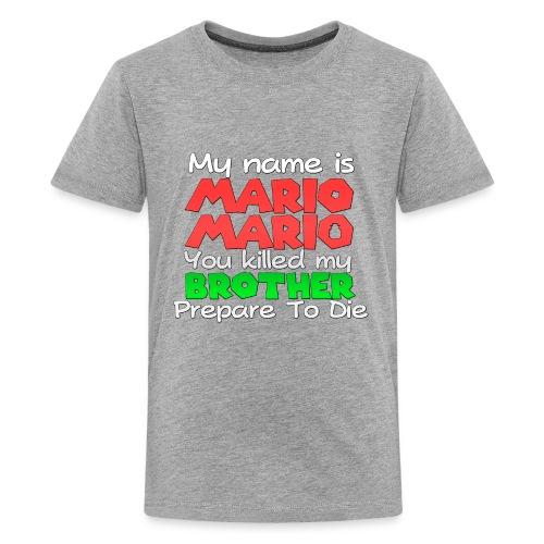 My name is Mario Mario - Kids' Premium T-Shirt