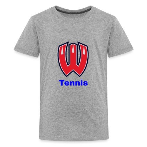 Westview High School Tennis (Blue Lettering) - Kids' Premium T-Shirt
