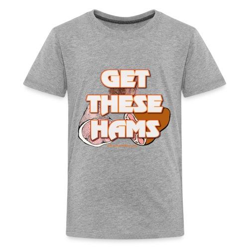 #GetTheseHams - Pro Wrestling Shirt - Kids' Premium T-Shirt
