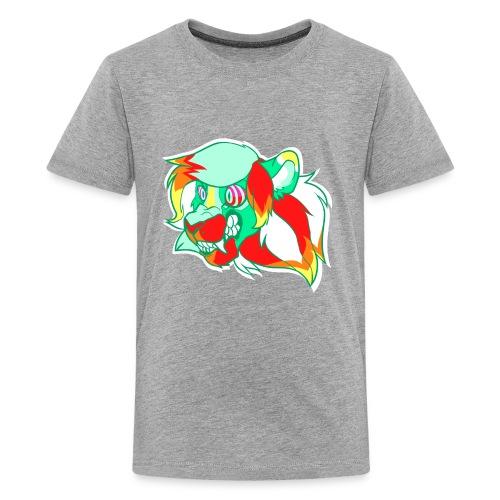 Psychedelic Lion - Kids' Premium T-Shirt