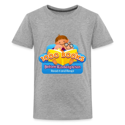 1000 Books Before Kindergarten - Kids' Premium T-Shirt