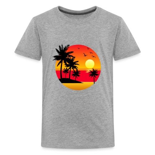 Sunset Summer T-Shirt - Kids' Premium T-Shirt