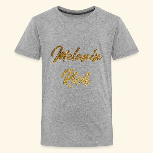 MELANIN Rich - Kids' Premium T-Shirt