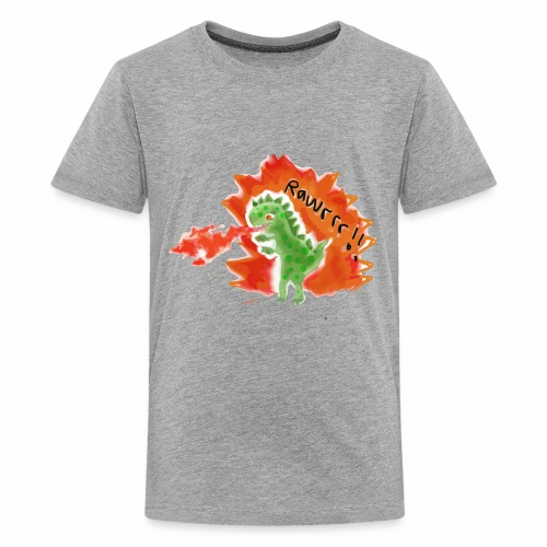 Rawrrr! Dinosaurs - Kids' Premium T-Shirt