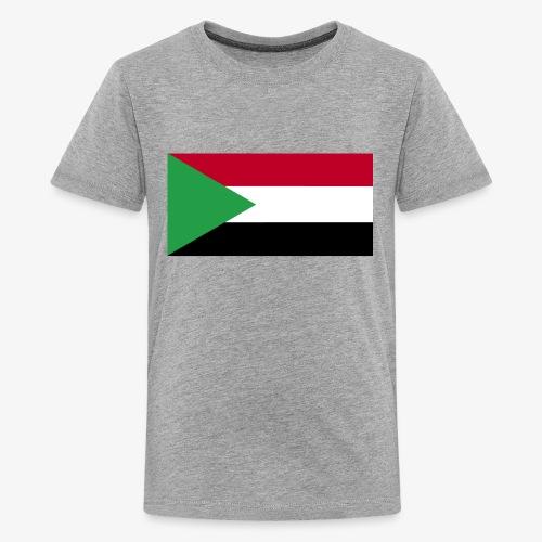 Sudan flag - Kids' Premium T-Shirt
