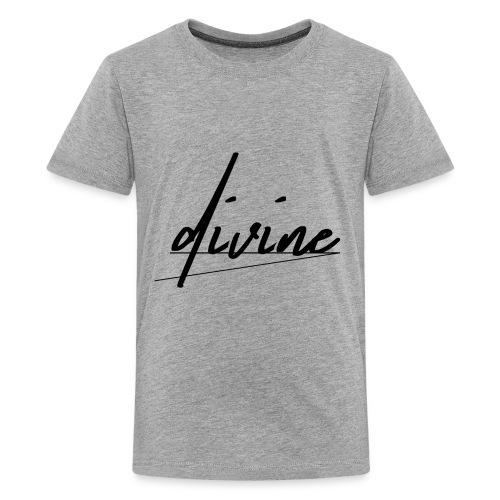 DIVINE_CURSIVE_LINES - Kids' Premium T-Shirt