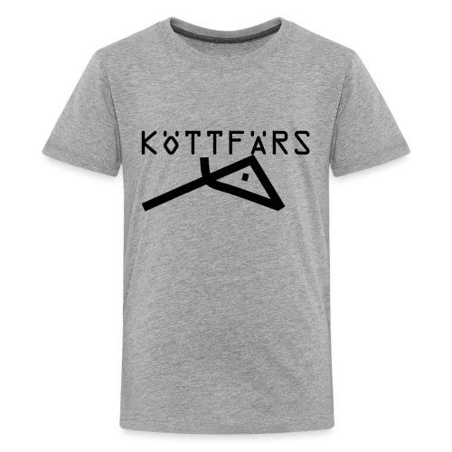Köttfärs Black - Kids' Premium T-Shirt