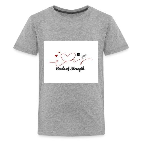 Beads of Strength Logo - Kids' Premium T-Shirt