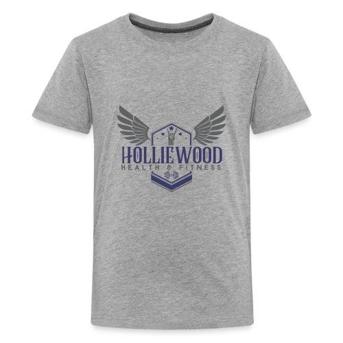 HollieWood Health & Fitness - Kids' Premium T-Shirt