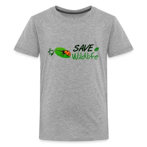 Save Wildlife - Kids' Premium T-Shirt
