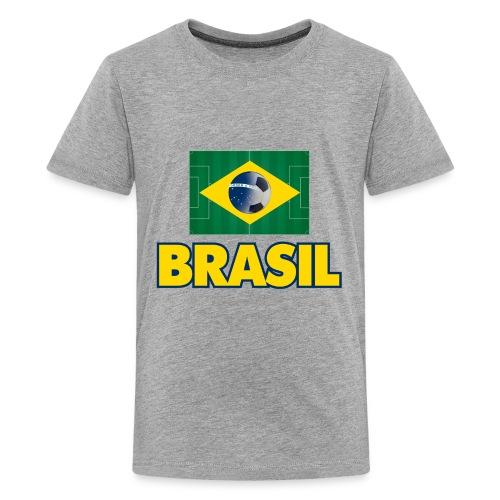 Brasil soccer - Kids' Premium T-Shirt