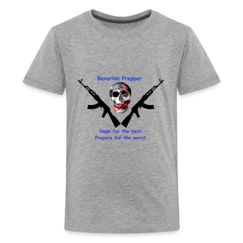 Flag Skull - Kids' Premium T-Shirt