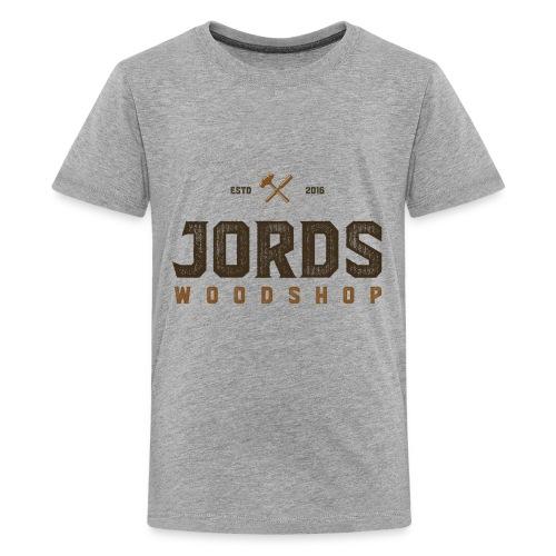 New Age JordsWoodShop logo - Kids' Premium T-Shirt