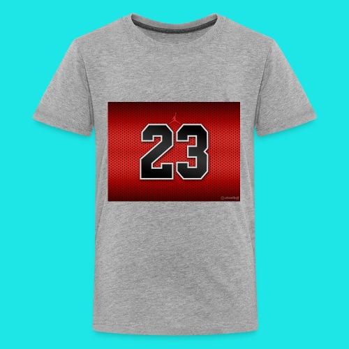 Jordan_Bulls_Jersey - Kids' Premium T-Shirt