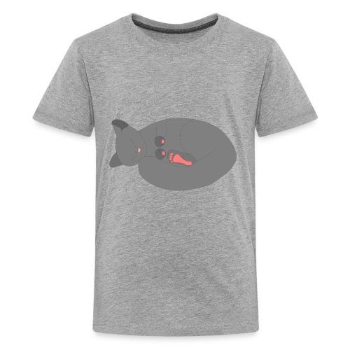Sleeping Kitten - Kids' Premium T-Shirt