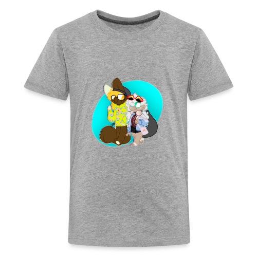 DONUT AND COFFEE - Kids' Premium T-Shirt
