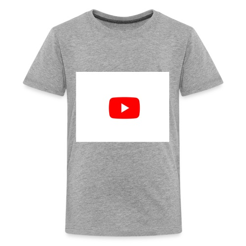 YouTube play button - Kids' Premium T-Shirt