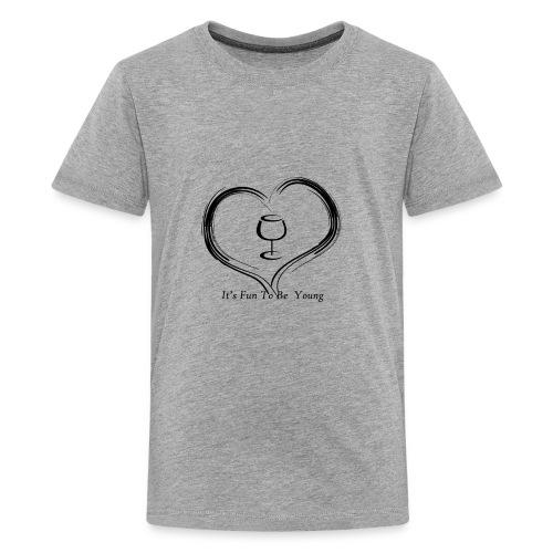 happy hearts - Kids' Premium T-Shirt