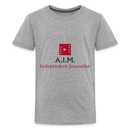 Aussie independent Media style 1 - Kids' Premium T-Shirt