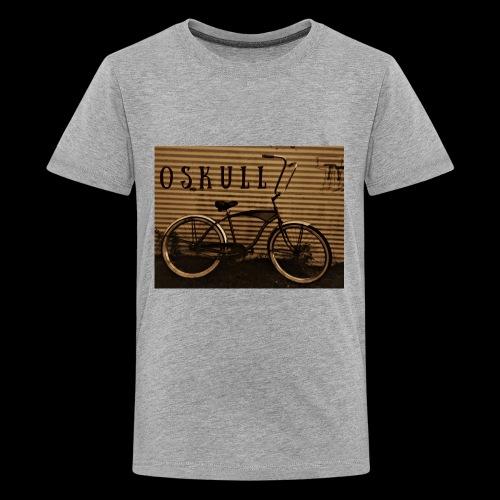 ratrod bike old school style - Kids' Premium T-Shirt