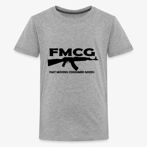 FMCG fast moving consumer goods (black text) - Kids' Premium T-Shirt