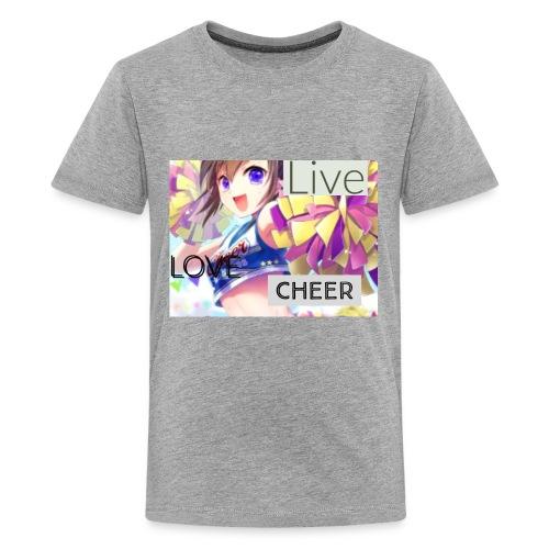 live love cheer - Kids' Premium T-Shirt