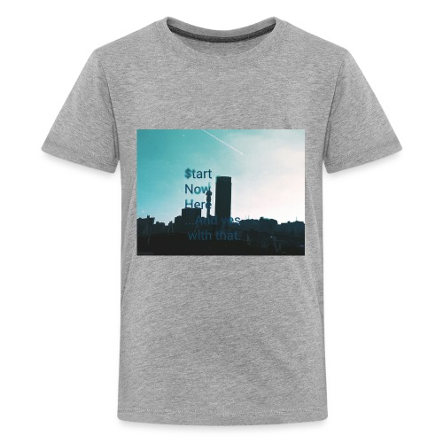 Johannesburg hustles - Kids' Premium T-Shirt