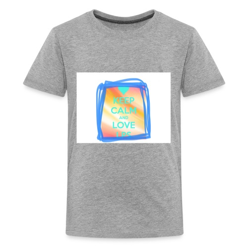"""LPS Candyy-Lps saying """"keep calm and love lps"""" - Kids' Premium T-Shirt"""
