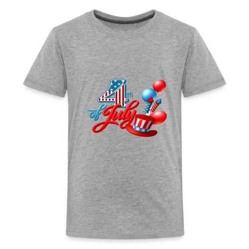 4th of july t-shirt new 2018 - Kids' Premium T-Shirt