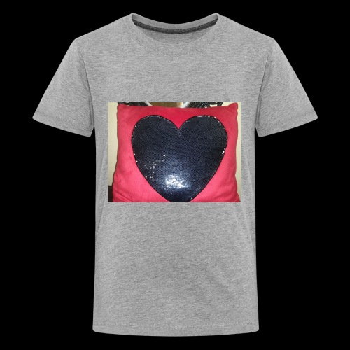 Heart pillow - Kids' Premium T-Shirt
