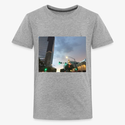 Tucson Rainy Weather - Kids' Premium T-Shirt
